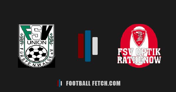 Union Fürstenwalde VS FSV Optik Rathenow thumbnail
