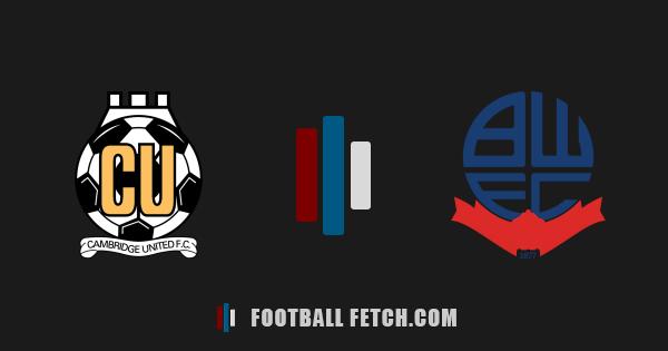 Cambridge United VS Bolton Wanderers thumbnail