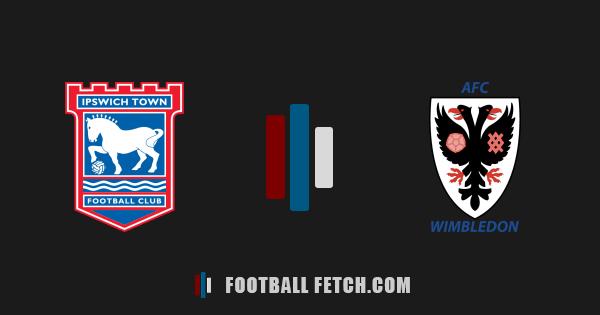 Ipswich Town VS AFC Wimbledon thumbnail