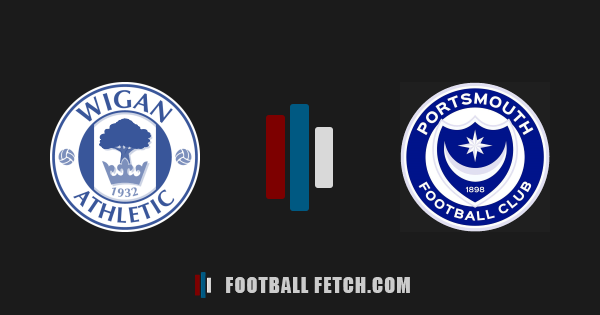 Wigan Athletic VS Portsmouth thumbnail