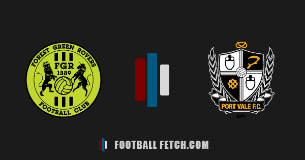 Forest Green Rovers VS Port Vale thumbnail