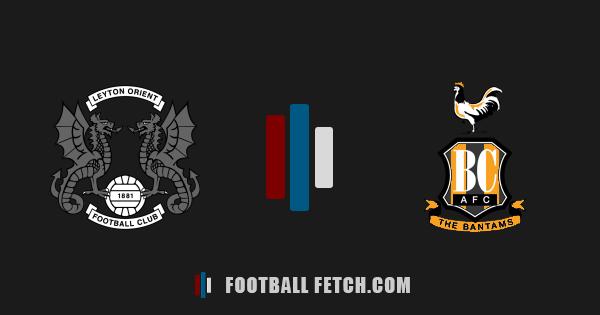 Leyton Orient VS Bradford City thumbnail