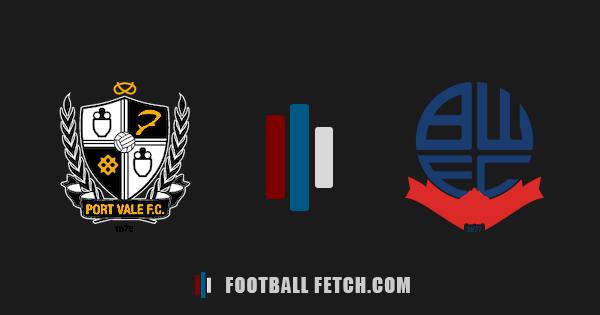 Port Vale VS Bolton Wanderers thumbnail