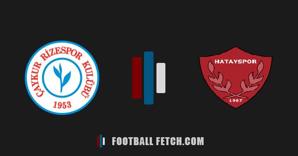 Rizespor VS Hatayspor thumbnail