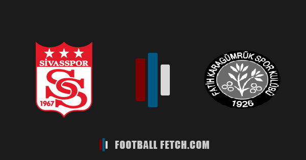 Sivasspor VS Fatih Karagümrük thumbnail