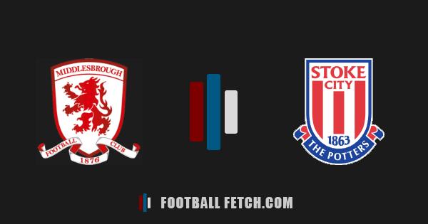 Middlesbrough VS Stoke City thumbnail