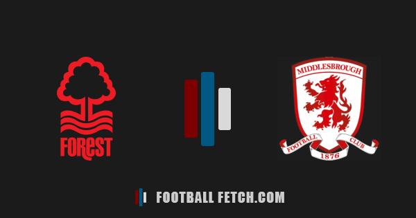 Nottingham Forest VS Middlesbrough thumbnail