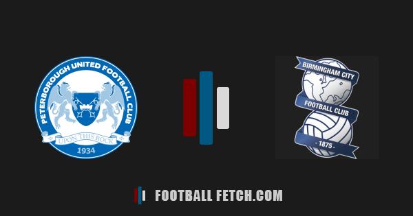 Peterborough United VS Birmingham City thumbnail