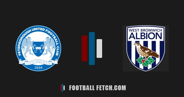 Peterborough United VS West Bromwich Albion thumbnail